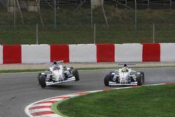 Crash entre Jack Te Braak, Muecke Motorsport et Olivier Lombard, Eurointernational
