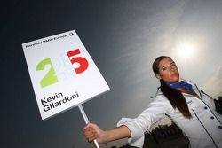 Grid girl de Kevin Gilardoni, Fisichella Motor Sport International SPA