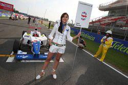 Grid girl de Jack Harvey, Fortec Motorsport