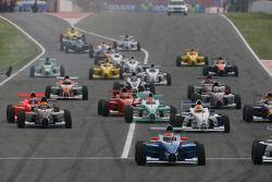 Départ de la course, Luiz Felipe Nasr, Eurointernational