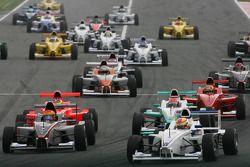 Départ, Robin Frijns, Josef Kaufmann Racing