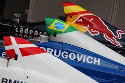 Monoplaces de Michael Christensen, Muecke Motorsport, Luiz Felipe Nasr, Eurointernational et Daniel