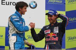 Vainqueur, Luiz Felipe Nasr, Eurointernational et troisième, Daniel Juncadella, Eurointernational