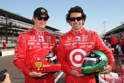 Scott Dixon, Target Chip Ganassi Racing and Dario Franchitti, Target Chip Ganassi Racing