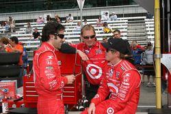 Dario Franchitti, Target Chip Ganassi Racing et Scott Dixon, Target Chip Ganassi Racing