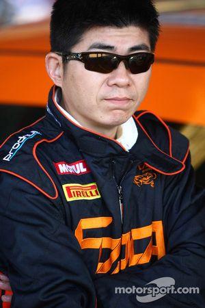 Rui Wang et Song Xiao, Reece Jones Rallysport