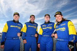Cody Crocker et Ben Atkinson, Motor Image Racing, Emma Gilmour et Rhianon Smyth, Motor Image Racing
