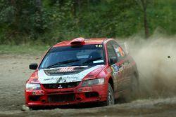 Justin Dowel et Matt Lee, Activ Rallysport