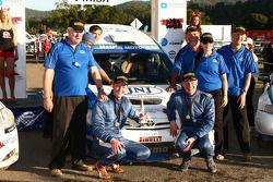 Glen Raymond et Matt Raymond remportent la quatrième manche du championnat australien des Rallyes
