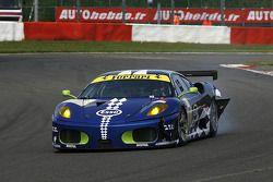 La Ferrari F430 GT N°99 (John Hartshorne, Manuel Rodrigues, Ralf Kelleners)
