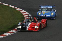 La Courage-Oreca LC70 – Judd N°12 (Pierre Ragues, Frank Mailleux) et la Proton Porsche GT3 RSR N°77