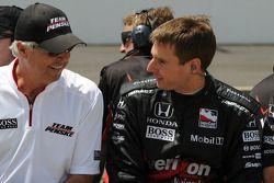 Will Power, Penske Racing talking to Rick Mears