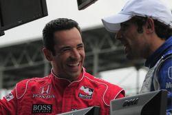 Helio Castroneves, Penske Racing et Raphael Matos, Luzco Dragon Racing