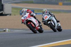 Николо Канепа, Pramac Racing, и Юки Такахаши, Scot Racing Team MotoGP