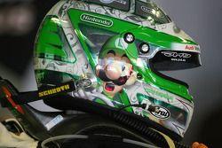 Casque de Timo Scheider, Audi Sport Team Abt