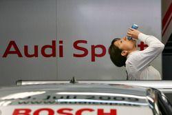 Katherine Legge, Audi Sport Team Abt boit un peu de Red Bull