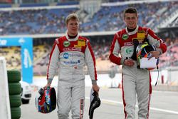 Christian Bakkerud, Kolles TME, Audi A4 DTM et Tomas Kosta, Kolles TME, Audi A4 DTM