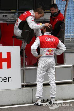 Mattias Ekström, Audi Sport Team Abt Audi A4 DTM tripote Martin Tomczyk, Audi Sport Team Abt Audi A4