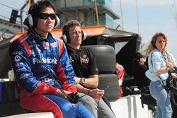 Hideki Mutoh et Marco Andretti, Andretti Green Racing
