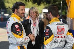 Yvan Muller, Seat Sport, Seat Leon 2.0 TDI and Tiago Monteiro, Seat Sport, Seat Leon 2.0 TDI