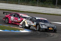 Katherine Legge, Audi Sport Team Abt Audi A4 DTM devance Susie Stoddart, Persson Motorsport, AMG Mer