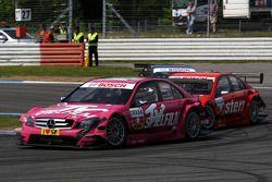 Susie Stoddart, Persson Motorsport, AMG Mercedes C-Klasse devance Mathias Lauda, Mücke Motorsport, AMG Mercedes C-Klasse