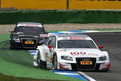Tom Kristensen, Audi Sport Team Abt Audi A4 DTM, devance Timo Scheider, Audi Sport Team Abt Audi A4