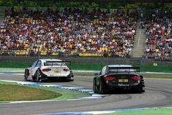Tom Kristensen, Audi Sport Team Abt Audi A4 DTM, devance Timo Scheider, Audi Sport Team Abt Audi A4 DTM