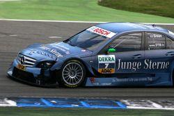 Les dégâts sur la voiture de Jamie Green, Persson Motorsport, AMG Mercedes C-Klasse