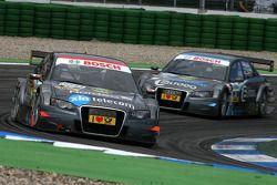 Christian Bakkerud, Kolles TME, Audi A4 DTM, devance Tomas Kostka, Kolles TME, Audi A4 DTM