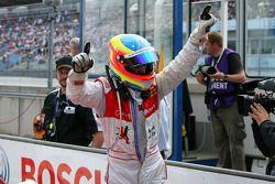 Oliver Jarvis, Audi Sport Team Phoenix, heureux de sa 3ème place
