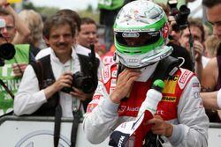 Timo Scheider, Audi Sport Team Abt Audi A4 DTM dans le parc fermé