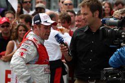 Tom Kristensen, Audi Sport Team Abt Audi A4 DTM interviewé par la télévision allemande