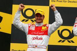 Podium: 2ème place pour Timo Scheider, Audi Sport Team Abt