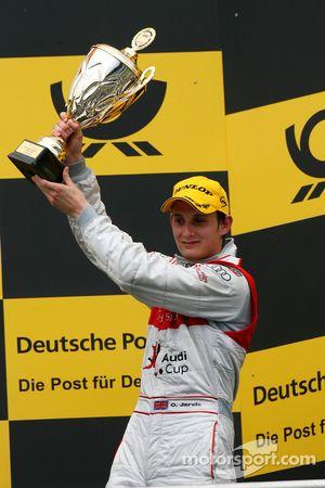 Podium: 3ème place pour Oliver Jarvis, Audi Sport Team Phoenix
