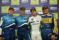 3rd, Robert Huff, Chevrolet, Chevrolet Cruze, 1st, Alain Menu, Chevrolet, Chevrolet Cruze, 2nd, Augu