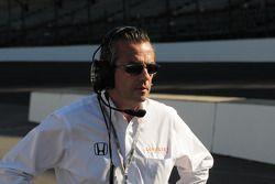 Eric Bachelart après Alex Tagliani, Conquest Racing est percuté par Ryan Hunter-Reay, Vision Racing