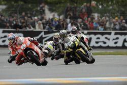 Ники Хейден, Ducati Marlboro Team, и Джеймс Тоузленд, Monster Yamaha Tech 3