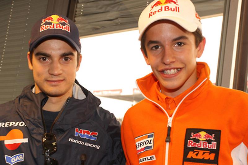 Dani Pedrosa y Marc Márquez (2009)