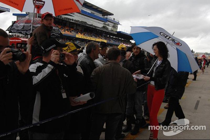 Chica de LCR Honda MotoGP