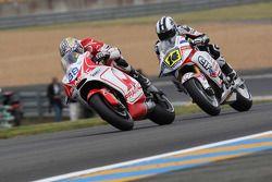 Николо Канепа, Pramac Racing, и Рэнди де Пюнье, LCR Honda MotoGP