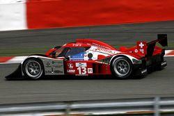 #13 Speedy Racing Team Sebah Lola B08/60 Coupé - Aston Martin: Andrea Belicchi, Marcel Fassler, Nico