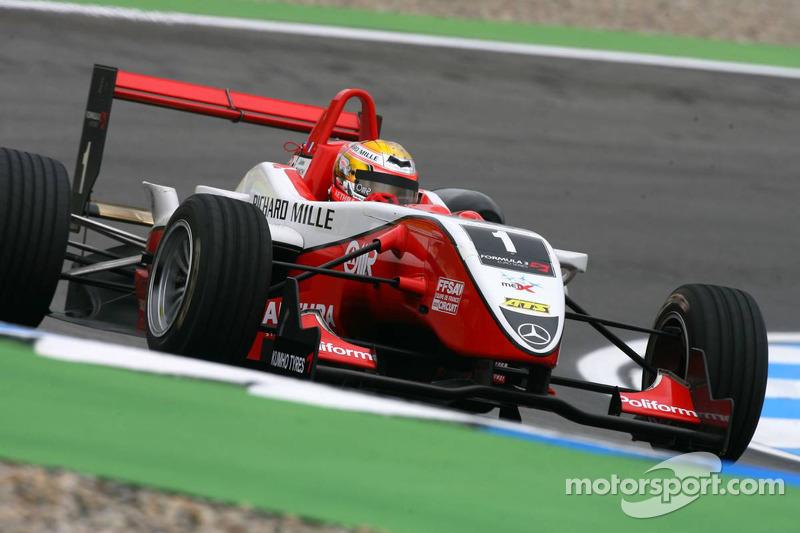 Números de campeón en las Euroseries de F3