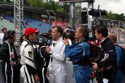 Vainqueurs de la première course de Formule 3 Euroseries 2009 : Stefano Coletti, Prema Powerteam, Da