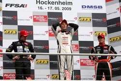Podium: 1er, Stefano Coletti, Prema Powerteam, Dallara F308 Mercedes; 2nd, Roberto Merhi, Manor Motorsport, Dallara Mercedes F308; 3ème, Sam Bird, Mücke Motorsport, Dallara F308 Mercedes