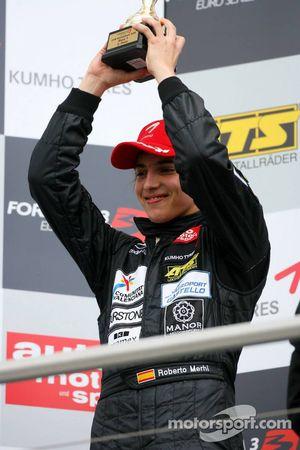 Podium, Roberto Merhi, Manor Motorsport