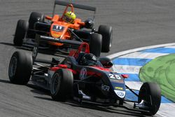Tiago Geronimi, Signature, Dallara F308 Volkswagen, devance Henkie Waldschmidt, SG Formula, Dallara F308 Mercedes