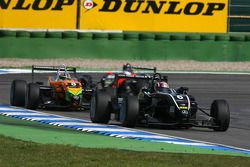 Stefano Coletti, Prema Powerteam, Dallara F308 Mercedes, devance Sam Bird, Mücke Motorsport, Dallara F308 Mercedes