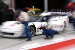Corvette C6R N°19 : Xavier Maassen, Guillaume Moreau