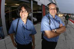 Les officiels de la FIA